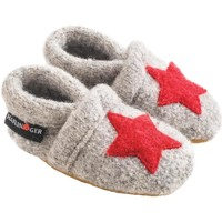 Scarpe Unisex bambino Scarpette neonato Haflinger 65306384 Grigio