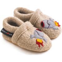 Scarpe Unisex bambino Scarpette neonato Haflinger 65306449 Beige