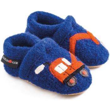 Scarpe Unisex bambino Pantofole Haflinger 65306575 Blu