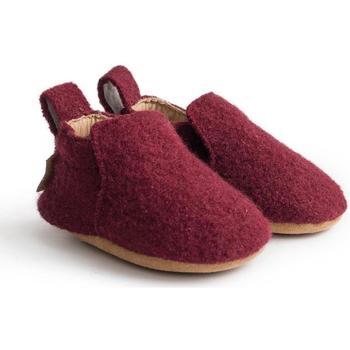 Scarpe Unisex bambino Scarpette neonato Haflinger 65100633 Rosso