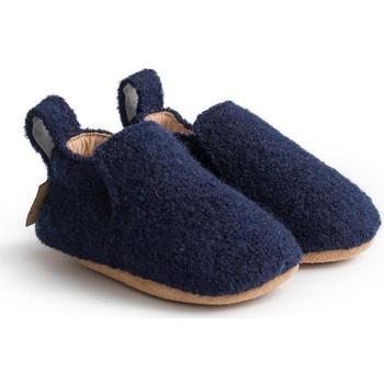 Scarpe Unisex bambino Scarpette neonato Haflinger 65100670 Blu