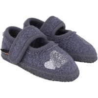 Scarpe Unisex bambino Scarpette neonato Haflinger 67306359 Blu