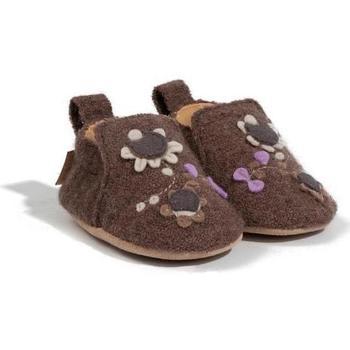 Scarpe Unisex bambino Scarpette neonato Haflinger 65307963 Marrone