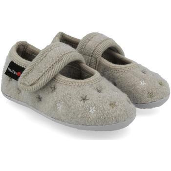 Scarpe Unisex bambino Scarpette neonato Haflinger 48401802 Grigio