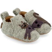 Scarpe Unisex bambino Scarpette neonato Haflinger 65308484 Grigio