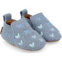 Scarpe Unisex bambino Scarpette neonato Haflinger 65404678 Blu