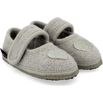 Scarpe Unisex bambino Scarpette neonato Haflinger 67306602 Grigio