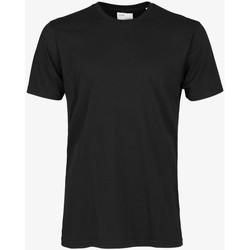 Abbigliamento Uomo T-shirt maniche corte Colorful Standard CLASSIC ORGANIC TEE deep-black-nero