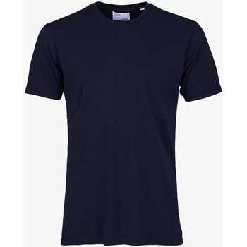 Abbigliamento Uomo T-shirt maniche corte Colorful Standard CLASSIC ORGANIC TEE navy-blue-blu