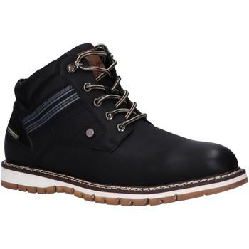 Scarpe Uomo Sneakers alte Lois 64005 Negro
