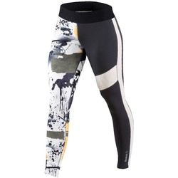 Abbigliamento Donna Pantaloni Reebok Sport Elite Tight Bianco, Nero, Grigio