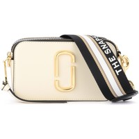 Borse Tracolle Marc by Marc Jacobs Borsa a tracolla The  Snapshot bianca e nera Bianco