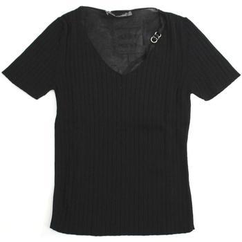 Abbigliamento Donna T-shirt & Polo Pennyblack ATRMPN-21650 Nero