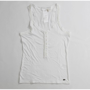 Abbigliamento Donna Top / T-shirt senza maniche Gas ATRMPN-21658 Bianco