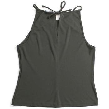 Abbigliamento Donna Top / T-shirt senza maniche Lineaemme ATRMPN-21660 Verde