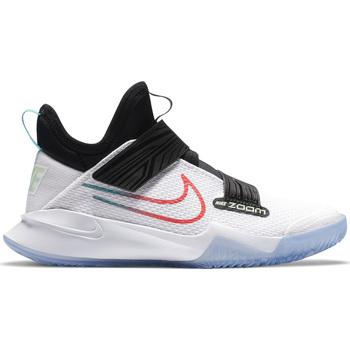 Scarpe Bambino Pallacanestro Nike ZOOM FLIGHT (GS) CK0787 101 Bianco