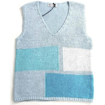 Abbigliamento Donna Top / T-shirt senza maniche Ferrante ATRMPN-21663 Blu