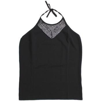 Abbigliamento Donna Top / T-shirt senza maniche Ferrante ATRMPN-21665 Nero
