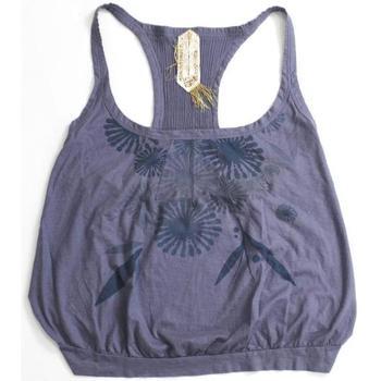 Abbigliamento Donna Top / T-shirt senza maniche Gas ATRMPN-21666 Blu