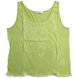 Abbigliamento Donna Top / T-shirt senza maniche Marella ATRMPN-21667 Verde