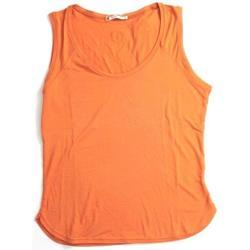 Abbigliamento Donna Top / T-shirt senza maniche Marella ATRMPN-21669 Arancio