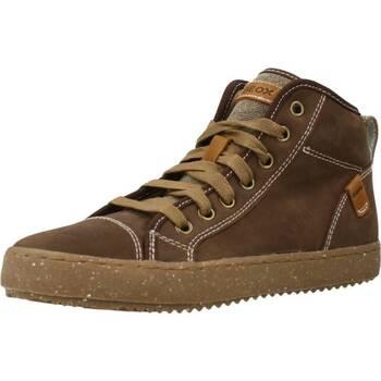 Scarpe Bambino Sneakers alte Geox J ALONISSO BOY Marrone
