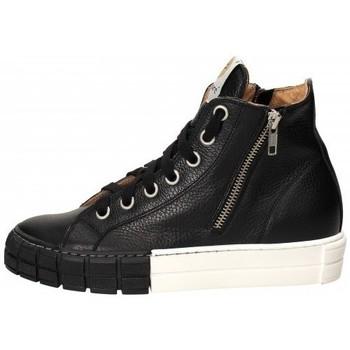 Scarpe Donna Stivaletti Lemaré Lemaré Sneaker in pelle Nero Nero