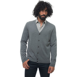 Abbigliamento Gilet / Cardigan Hugo Boss MARDONE-50392802030 Grigio medio