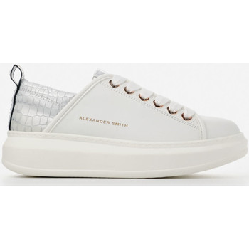 Scarpe Donna Sneakers basse Alexander Smith WEMBLEY bianco-argento