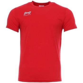 Abbigliamento Uomo T-shirt maniche corte Hungaria H-15TOUYB000 Rosso