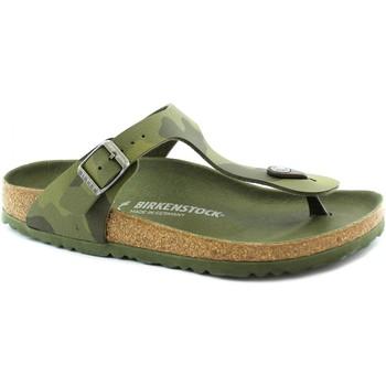 Scarpe Bambina Infradito Birkenstock BIR-RRR-1015597-GR Verde