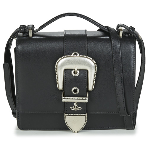 Borse Donna Tracolle Vivienne Westwood RODEO SMALL SHOULDER BAG Nero