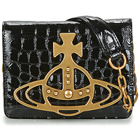 Borse Donna Tracolle Vivienne Westwood ARCHIVE ORB CROSSBODY Nero