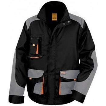 Abbigliamento Uomo Giacche Result RS316 Nero/Grigio