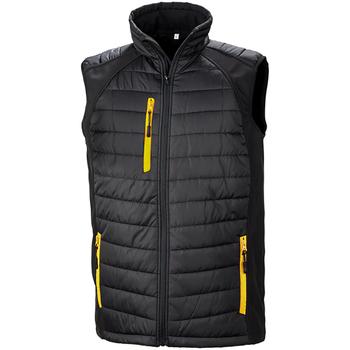 Abbigliamento Uomo Giacche Result R238X Nero/Giallo