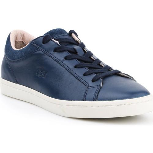 Scarpe Donna Sneakers basse Lacoste Straightset 7-30SRW0028003 granatowy