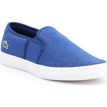Scarpe Donna Slip on Lacoste Gazon 7-33CAW1074125 blue