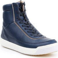 Scarpe Donna Sneakers alte Lacoste Explorateur 7-32CAW0118003 granatowy