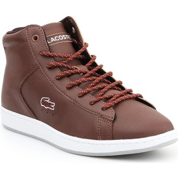 Scarpe Donna Sneakers alte Lacoste Carnaby EVO 7-30SPW411377T brown
