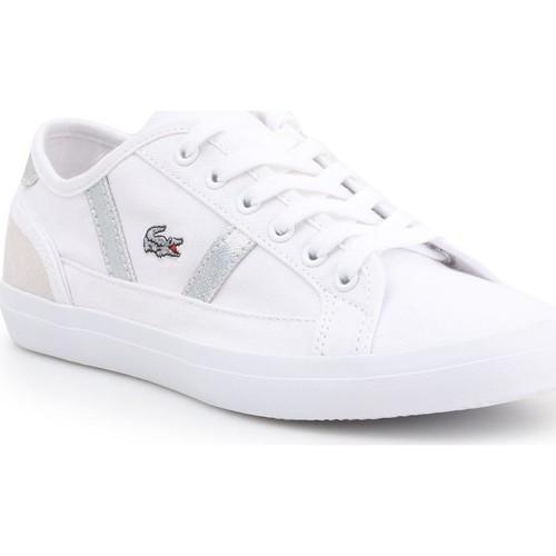 Scarpe Donna Sneakers basse Lacoste Sideline 7-37CFA004321G white