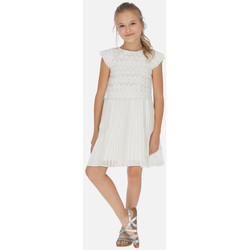 Abbigliamento Bambina Vestiti Mayoral ATRMPN-21850 Bianco