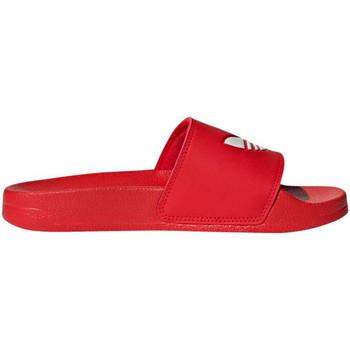 Scarpe Bambino Scarpe acquatiche adidas Originals - Adilette lite j rosso/bco FU9179 ROSSO