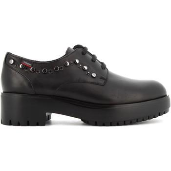 Scarpe Donna Derby CallagHan donna scarpe stringate 25322 NERO Pelle