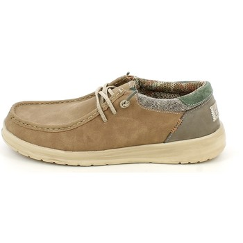 Scarpe Uomo Mocassini Hey Dude PAUL.09_40 BEIGE