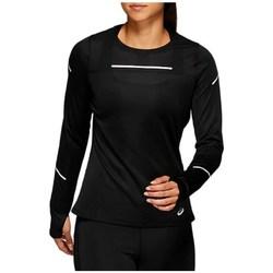 Abbigliamento Donna T-shirts a maniche lunghe Asics Liteshow 2 LS Top Nero