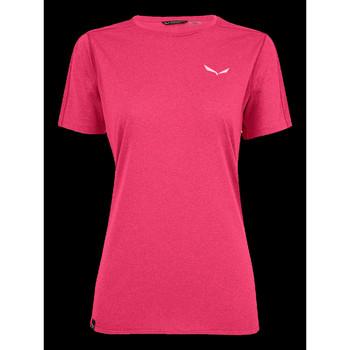 Abbigliamento Donna T-shirt maniche corte Salewa Pedroc 3 DRY W S/S TEE 27726-6385 pink
