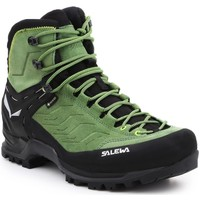 Scarpe Uomo Trekking Salewa MS MTN Trainer MID GTX 63458-5949 black, green