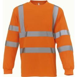Abbigliamento T-shirts a maniche lunghe Yoko T-Shirt manches longues  Haute Visibilité orange
