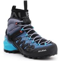 Scarpe Donna Trekking Salewa WS Wildfire Edge MID GTX 61351-8975 granatowy, grey, black