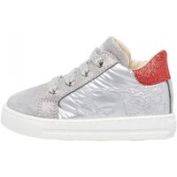 Scarpe Bambino Sneakers Falcotto - Polacchino argento/rosso GOYLE-1Q55 ARGENTO